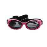 View Image 1 of Doggles - ILS2 Pink Zebra Frame with Smoke Lens