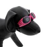 View Image 3 of Doggles - ILS2 Pink Zebra Frame with Smoke Lens