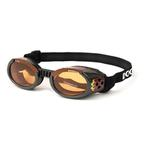 View Image 1 of Doggles - ILS2 Racing Flames Frame with Orange Lens