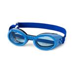 View Image 1 of Doggles - ILS2 Shiny Blue Frame with Blue Lens