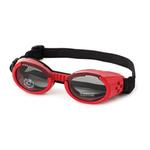 View Image 1 of Doggles - ILS2 Shiny Red Frame with Smoke Lens