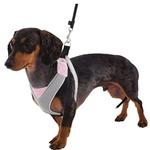 View Image 1 of Doggles Pink & Gray V Mesh Harness