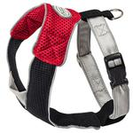 View Image 2 of Doggles Red & Black V Mesh Harness