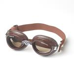 View Image 1 of Doggles - Sidecar Dog Goggles - Brown