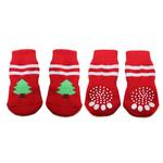 View Image 1 of Doggy Socks - Christmas Trees