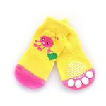 View Image 1 of Doggy Socks - Pink Shopping Lady Bug