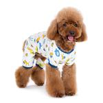 View Image 2 of Dogo Zoo Dog Pajamas - Blue
