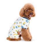 View Image 4 of Dogo Zoo Dog Pajamas - Blue