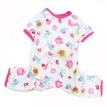 View Image 1 of Dogo Zoo Dog Pajamas - Pink