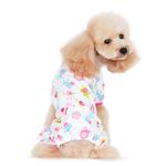 View Image 4 of Dogo Zoo Dog Pajamas - Pink