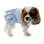 View Image 4 of Dorothy Dog Costume Dress - Blue