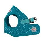 View Image 3 of Dotty Dog Harness Vest by Puppia - Teal