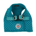 View Image 1 of Dotty Dog Harness Vest by Puppia - Teal