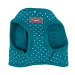 View Image 2 of Dotty Dog Harness Vest by Puppia - Teal