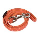 View Image 1 of Dotty Dog Leash by Puppia - Orange