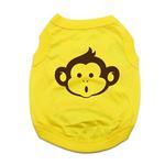 View Image 1 of Monkey Dog Shirt - Yellow