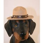 View Image 1 of Drill Sergeant Dog Hat - Camel