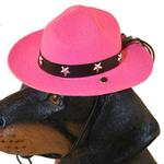 View Image 1 of Drill Sergeant Dog Hat - Pink