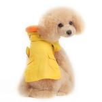 View Image 3 of Duck Dog Raincoat by Dogo - Yellow