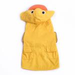 View Image 1 of Duck Dog Raincoat by Dogo - Yellow