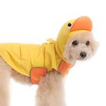View Image 2 of Duck Dog Raincoat by Dogo - Yellow