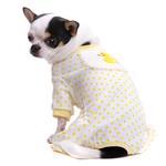 View Image 2 of Ducky Design Dog Pajamas - Yellow