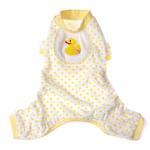 View Image 1 of Ducky Design Dog Pajamas - Yellow