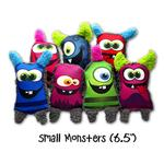 View Image 1 of Duraplush Monsters Dog Toys by Cycle Dog - Assorted Colors