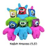 View Image 2 of Duraplush Monsters Dog Toys by Cycle Dog - Assorted Colors
