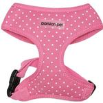View Image 1 of Parisian Pet Polka Dot Freedom Dog Harness - Pink