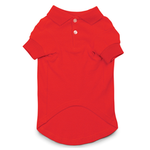 View Image 1 of Parisian Pet Dog Polo - Red