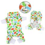 View Image 1 of Early Birds Knit Cotton Dog Pajamas by Klippo