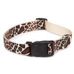 View Image 1 of East Side Collection Animal Print Dog Collar - Giraffe