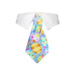 View Image 1 of Easter Dog Shirt Collar and Tie - Purple