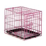 View Image 1 of Easy Crate Dog Crate - Raspberry