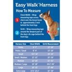 View Image 5 of Easy Walk Nylon Harness by PetSafe - Red/Black