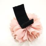 View Image 2 of EasyBOW Flower 1 Button Dog Collar Attachment by Dogo - Pink