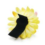 View Image 2 of EasyBOW Flower Dog Collar Attachment by Dogo - Yellow Begonia