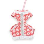 View Image 1 of EasyGO Flower Bling Dog Harness by Dogo - Pink