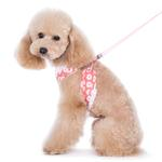 View Image 4 of EasyGO Flower Bling Dog Harness by Dogo - Pink