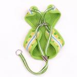 View Image 3 of EasyGo Frog Dog Harness by Dogo - Green