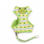 View Image 1 of EasyGo Frog Dog Harness by Dogo - Green