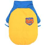 View Image 1 of Dobaz Lucky Racer Dog Jacket - Yellow