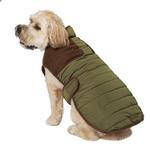 View Image 4 of Eddie Bauer Quilted Field Dog Coat - Sprig