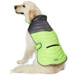 View Image 4 of Eddie Bauer Snowfield Performance Puffer Dog Vest - Cinder/Sulpher Sprig
