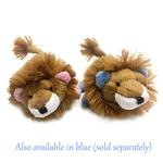 View Image 2 of Lion Safari Baby Pipsqueak Dog Toy By Oscar Newman - Pink