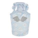 View Image 1 of Tess Dog Tank by Pinkaholic - Light Blue