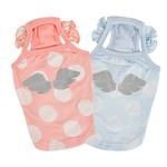 View Image 3 of Tess Dog Tank by Pinkaholic - Light Blue