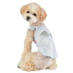View Image 4 of Tess Dog Tank by Pinkaholic - Light Blue