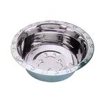 View Image 1 of Embossed Rim Dog Bowl by QT Dog